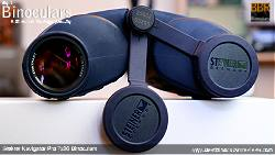 Lens Covers on the Steiner Navigator Pro 7x30 binoculars