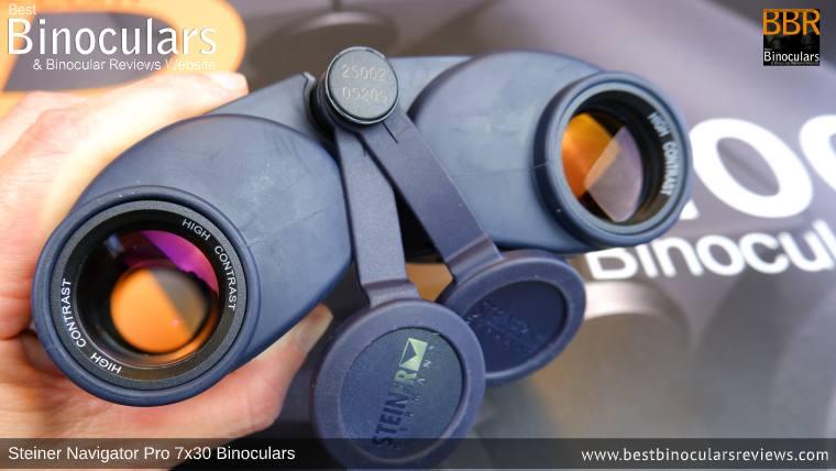 Objective Lenses on the Steiner Navigator Pro 7x30 binoculars