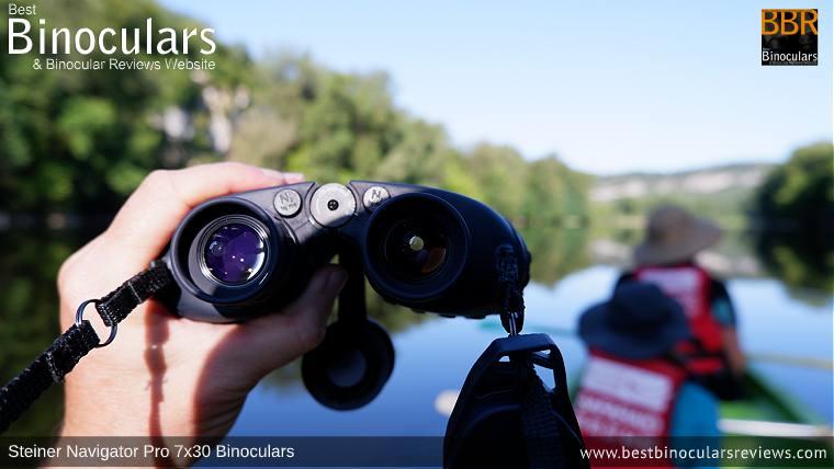 Ocular Lenes on the Steiner Navigator Pro 7x30 binoculars