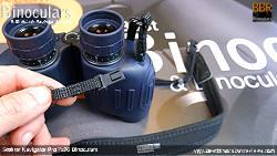 ClickLoc Attachment system on the Steiner Navigator Pro 7x30 binoculars Neck Strap