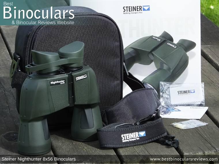 Accessories for the Steiner Nighthunter 8x56 Binoculars