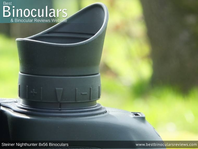 Diopter Adjustment on the Steiner Nighthunter 8x56 Binoculars