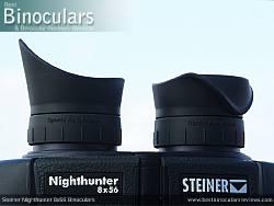 Eyecups on the Steiner Nighthunter 8x56 Binoculars