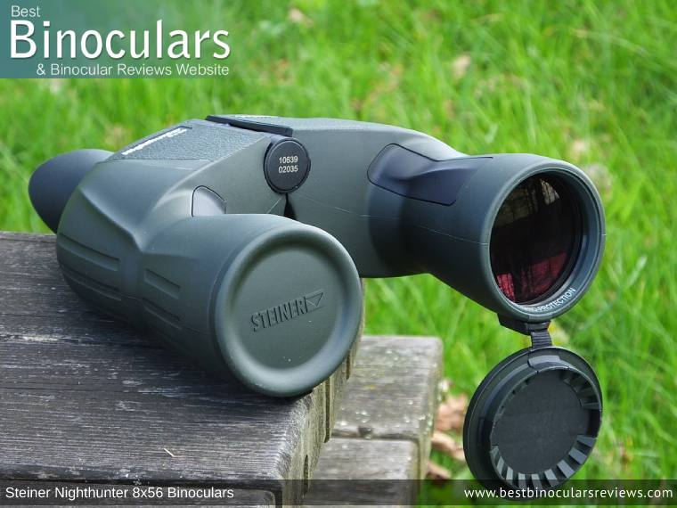 Objective Lenses on the Steiner Nighthunter 8x56 Binoculars