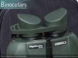 Rain Guard on the Steiner Nighthunter 8x56 Binoculars