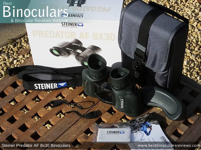 Accessories for the Steiner Predator AF 8x30 Binoculars
