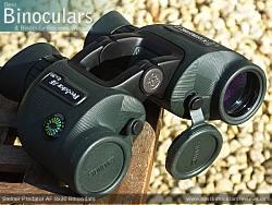 Lens Covers on the Steiner Predator AF 8x30 Binoculars