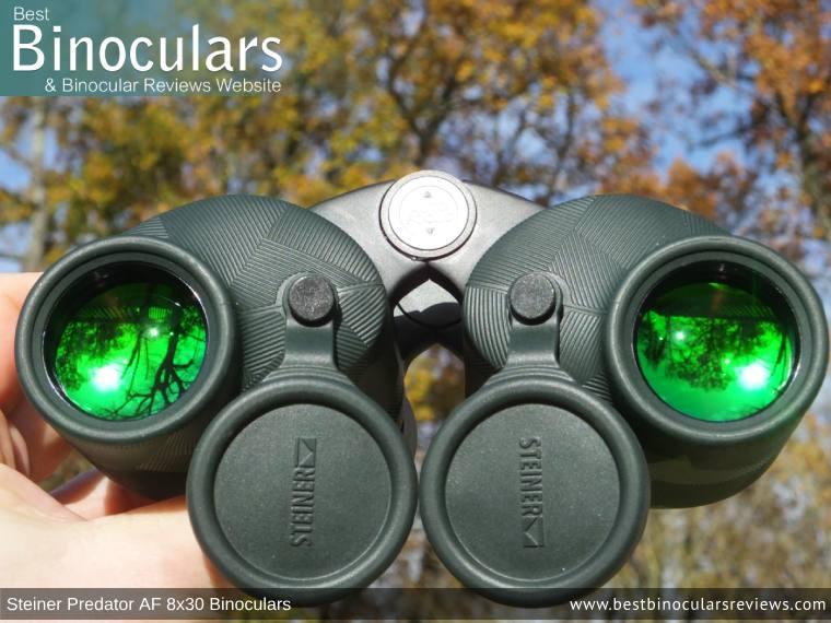 Objective Lenses on the Steiner Predator AF 8x30 Binoculars