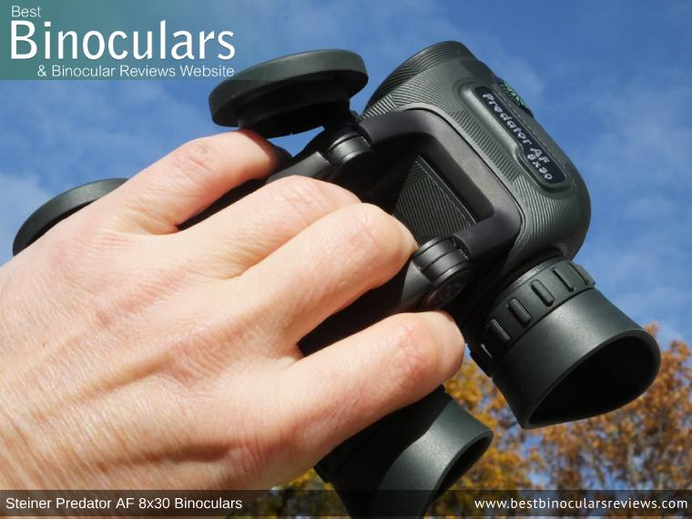Open Bridge Design on the Steiner Predator AF 8x30 Binoculars