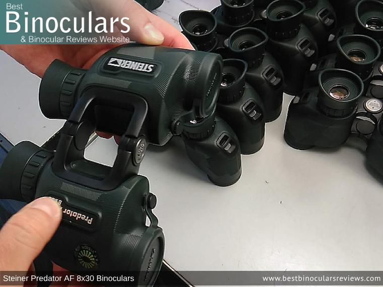 Production Line - Steiner Predator AF 8x30 Binoculars