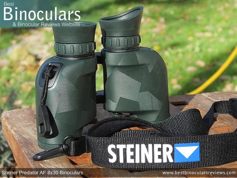 Neck Strap for the Steiner Predator AF 8x30 Binoculars