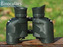 Underside view of the Steiner Predator AF 8x30 Binoculars