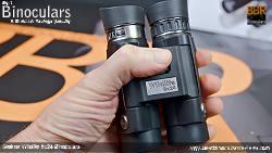 Holding the Compact Steiner Wildlife 8x24 Binoculars