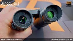 Ocular lenses on the Steiner Wildlife 8x24 Binoculars