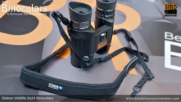 Neck Strap for the Steiner Wildlife 8x24 Binoculars
