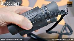 Click-Lock system on the Neck Strap included with the Steiner Wildlife 8x24 Binoculars