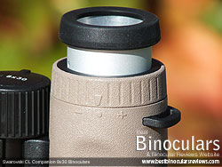 Diopter Adjustment on the Swarovski CL Companion Binoculars