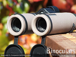Click for Large Image of the Objective Lens Covers On the Swarovski CL Companion