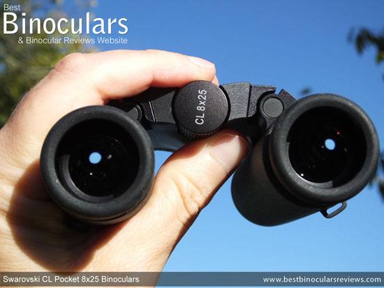 Focusing the Swarovski CL 8x25 Pocket Binoculars