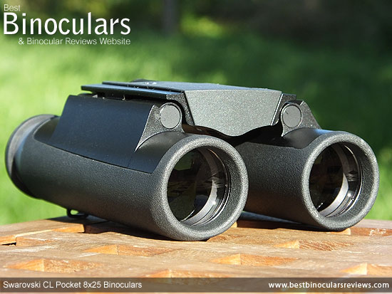 25mm objective lenses on the Swarovski CL Pocket 8x25 Binoculars