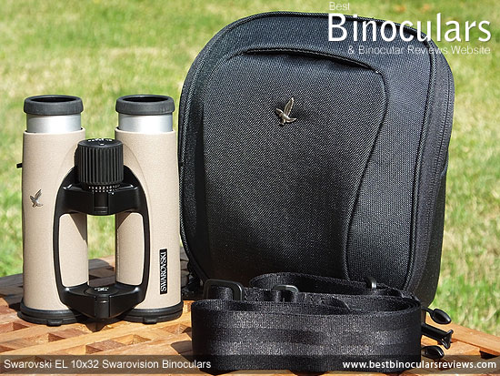 Carry Case & the Swarovski EL 10x32 Binoculars