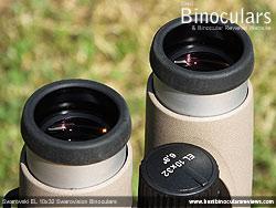 Eyecups on the Swarovski EL 10x32 Binoculars