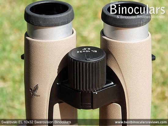 Focus Wheel on the Swarovski EL 10x32 Binoculars
