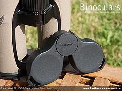 Rain-guard on the Swarovski EL 10x32 Binoculars