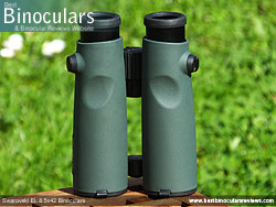 Rear of the Swarovski EL 8.5x42 Binoculars