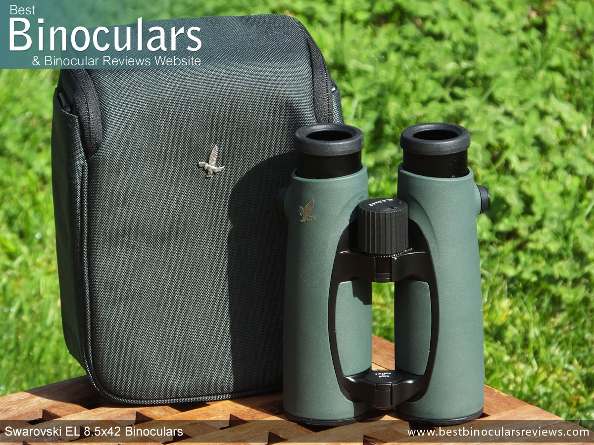 f899bfbf07 Carry case & the Swarovski EL 8.5x42 Binoculars