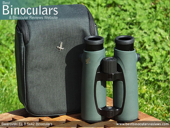 Carry case & the Swarovski EL 8.5x42 Binoculars