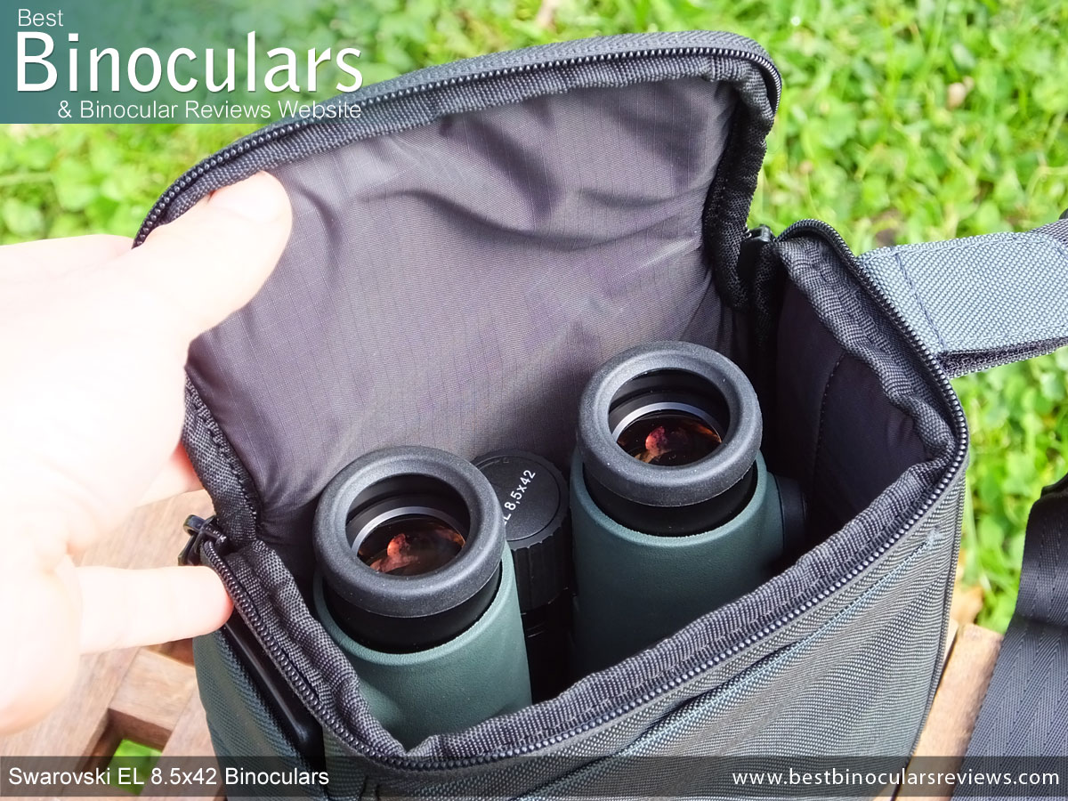 094b78e5d5 Swarovski EL 8.5x42 Binoculars in the Carry Bag