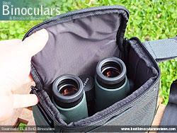 Swarovski EL 8.5x42 Binoculars in the Carry Bag