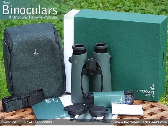 Accessories and the Swarovski EL 8.5x42 Binoculars