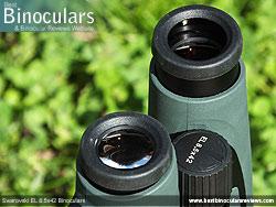 Eyecups on the Swarovski EL 8.5x42 Binoculars