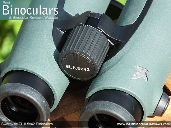 Focus Wheel on the Swarovski EL 8.5x42 Binoculars