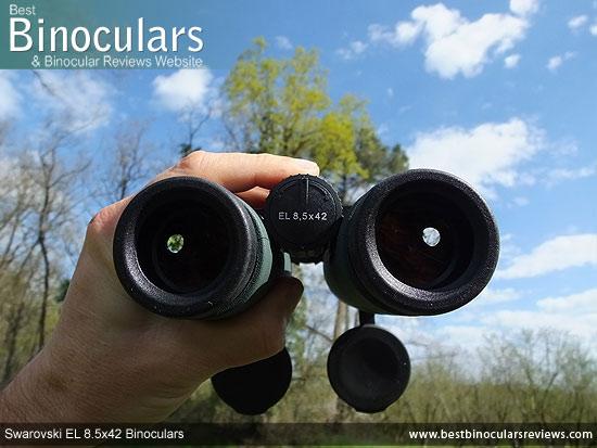 Focusing the Swarovski EL 8.5x42 Binoculars