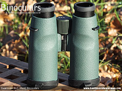 Underside of the Swarovski SLC 10x42  Binoculars