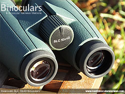 Eyecups on the Swarovski SLC 10x42 Binoculars