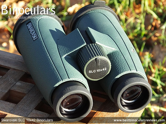 Focus Wheel on the Swarovski SLC 10x42 Binoculars