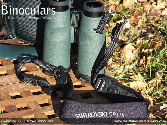 Neck Strap for the Swarovski SLC 10x42 Binoculars