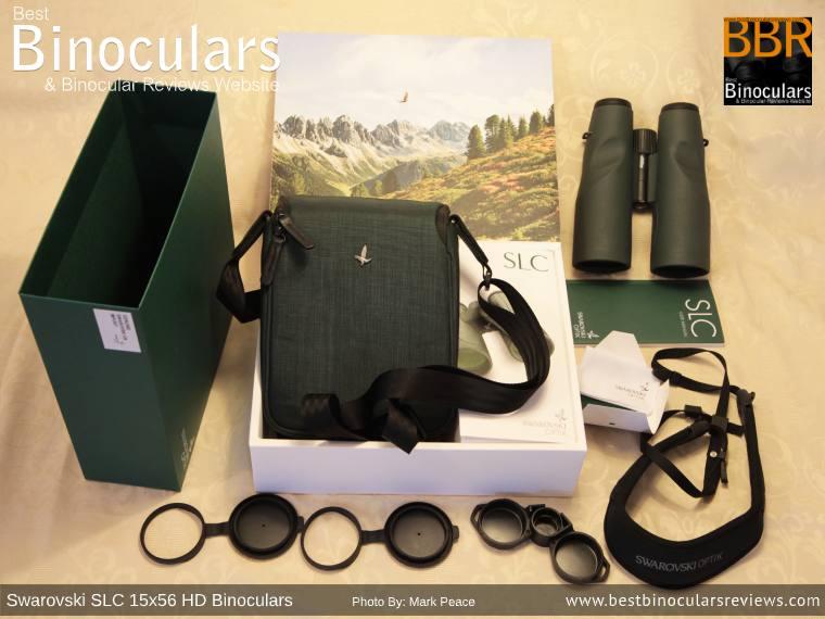 Accessories for the Swarovski SLC 15x56 HD Binoculars