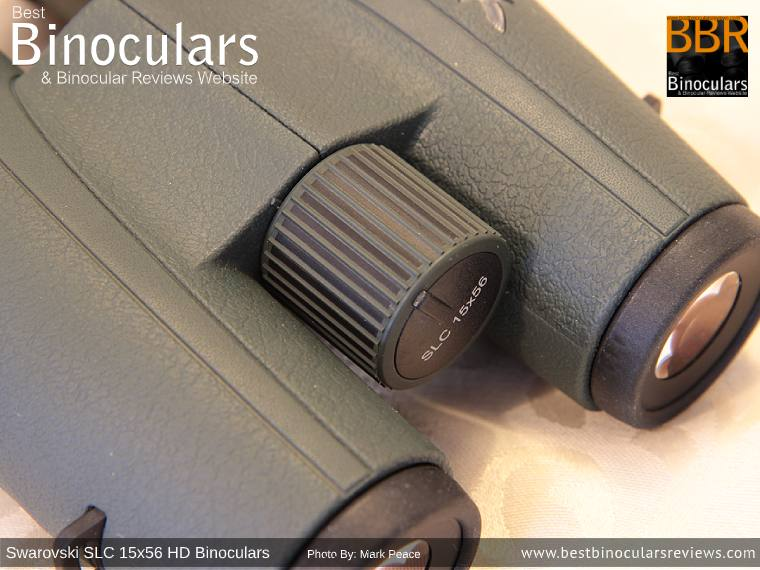 Focus Wheel on the Swarovski SLC 15x56 HD Binoculars