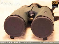 Lens Covers on the Swarovski SLC 15x56 HD Binoculars
