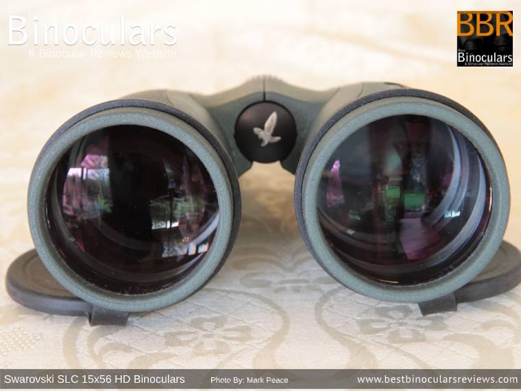 Objective Lenses on the Swarovski SLC 15x56 HD Binoculars