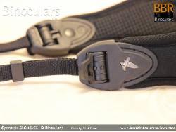 Neck Strap on the Swarovski SLC 15x56 HD Binoculars