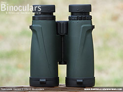 Underside of the Tom Lock Series 1 10x42 Binoculars