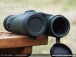 Tom Lock Series 1 10x42 Binoculars & Lens Covers