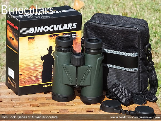 Tom Lock Series 1 10x42 Binoculars & Carry Case