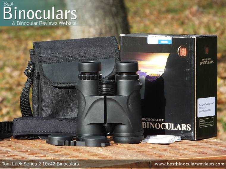 Tom Lock Series 2 10x42 Binoculars with Accessories